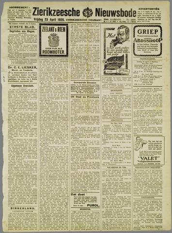 Zierikzeesche Nieuwsbode 1926-04-23