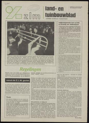 Zeeuwsch landbouwblad ... ZLM land- en tuinbouwblad 1990-01-26