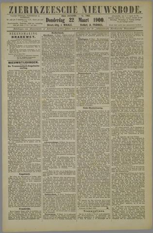 Zierikzeesche Nieuwsbode 1900-03-22