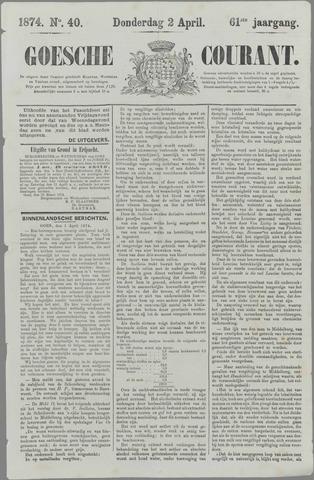 Goessche Courant 1874-04-02