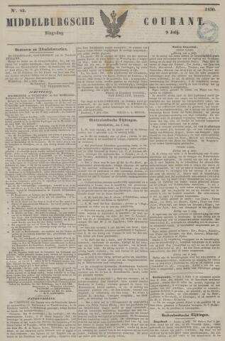 Middelburgsche Courant 1850-07-09