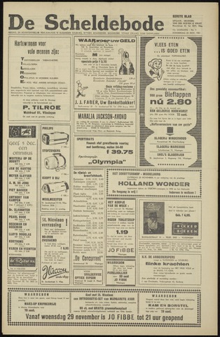 Scheldebode 1961-11-23