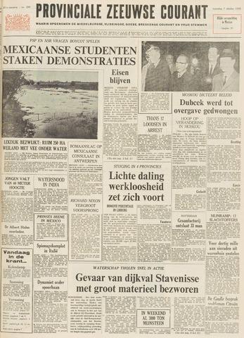 Provinciale Zeeuwse Courant 1968-10-07