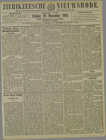 Zierikzeesche Nieuwsbode 1910-11-25