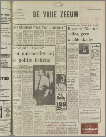 de Vrije Zeeuw 1974-08-22