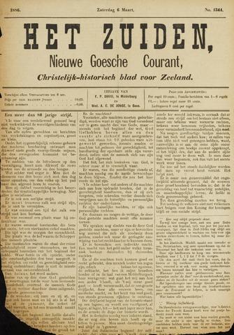 Het Zuiden, Christelijk-historisch blad 1886-03-06