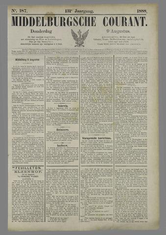 Middelburgsche Courant 1888-08-09