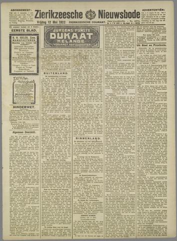 Zierikzeesche Nieuwsbode 1922-05-12