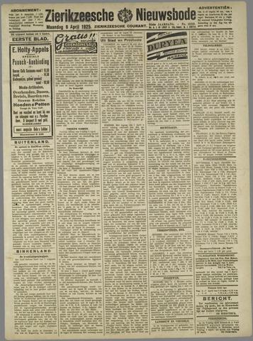 Zierikzeesche Nieuwsbode 1925-04-06