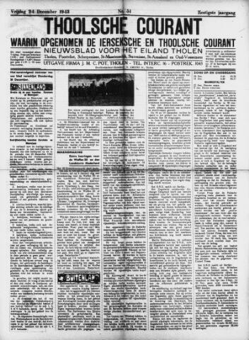 Ierseksche en Thoolsche Courant 1943-12-24
