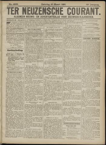 Ter Neuzensche Courant. Algemeen Nieuws- en Advertentieblad voor Zeeuwsch-Vlaanderen / Neuzensche Courant ... (idem) / (Algemeen) nieuws en advertentieblad voor Zeeuwsch-Vlaanderen 1920-03-20