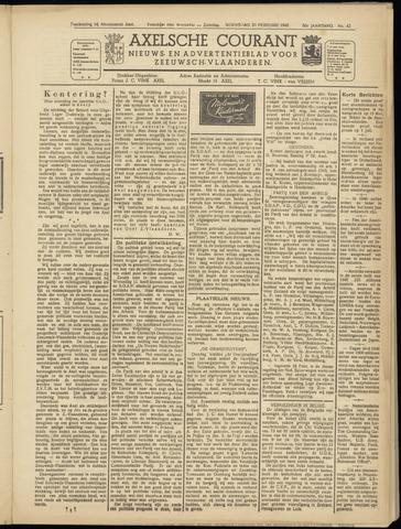 Axelsche Courant 1946-02-20