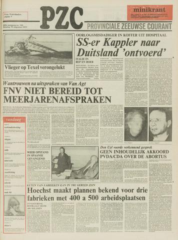 Provinciale Zeeuwse Courant 1977-08-16