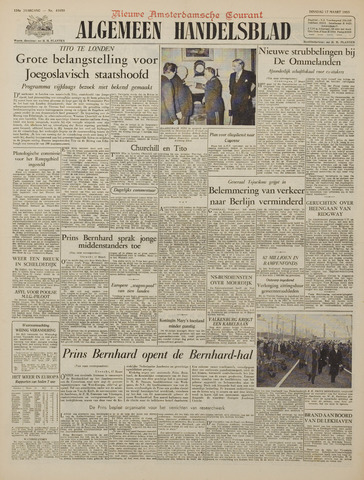 Watersnood documentatie 1953 - kranten 1953-03-17