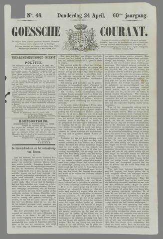 Goessche Courant 1873-04-24