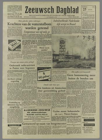 Zeeuwsch Dagblad 1958-01-25