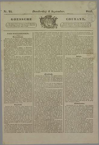 Goessche Courant 1845-09-04