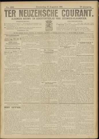 Ter Neuzensche Courant. Algemeen Nieuws- en Advertentieblad voor Zeeuwsch-Vlaanderen / Neuzensche Courant ... (idem) / (Algemeen) nieuws en advertentieblad voor Zeeuwsch-Vlaanderen 1915-08-19
