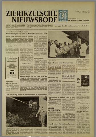 Zierikzeesche Nieuwsbode 1970-08-14