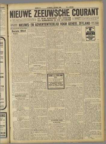 Nieuwe Zeeuwsche Courant 1924-10-04