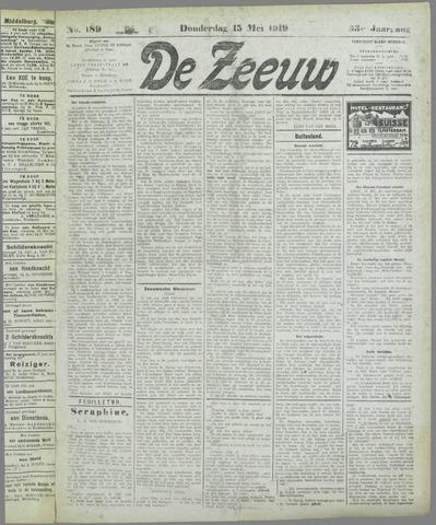 De Zeeuw. Christelijk-historisch nieuwsblad voor Zeeland 1919-05-15