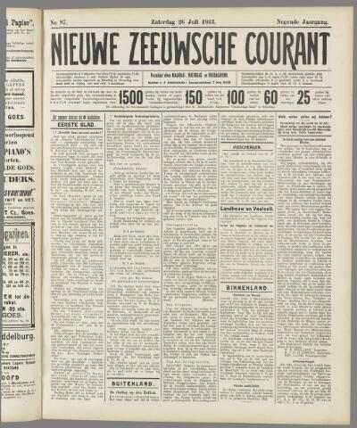 Nieuwe Zeeuwsche Courant 1913-07-26