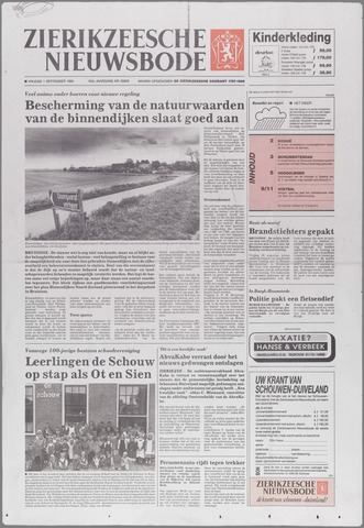 Zierikzeesche Nieuwsbode 1995-09-01