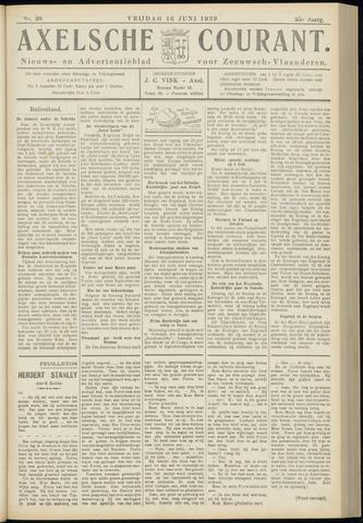 Axelsche Courant 1939-06-16
