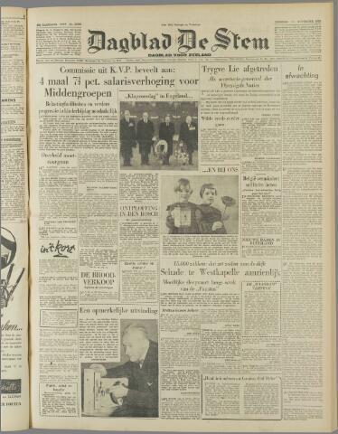 de Stem 1952-11-11