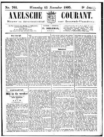 Axelsche Courant 1893-11-15