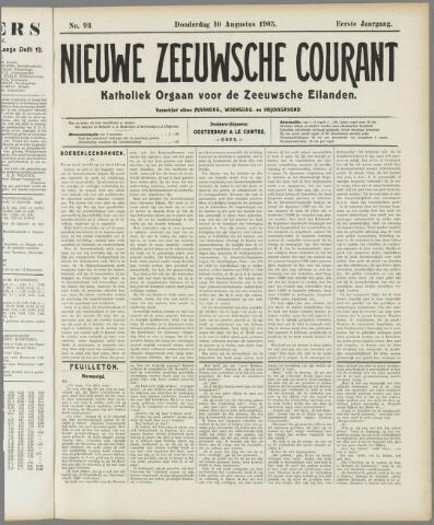 Nieuwe Zeeuwsche Courant 1905-08-10