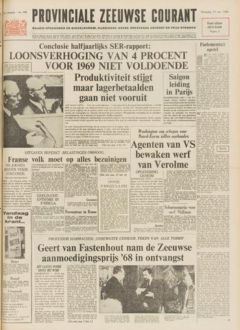 Provinciale Zeeuwse Courant 1968-11-27