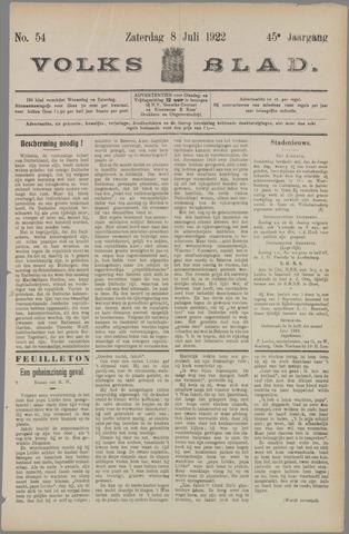 Volksblad 1922-07-08