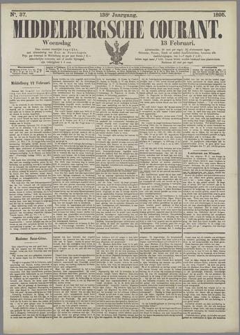 Middelburgsche Courant 1895-02-13