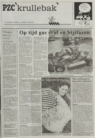 Provinciale Zeeuwse Courant katern Krullenbak (1981-1999) 1997-05-13