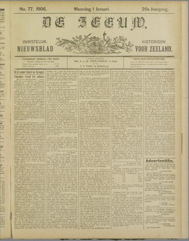 De Zeeuw. Christelijk-historisch nieuwsblad voor Zeeland 1906