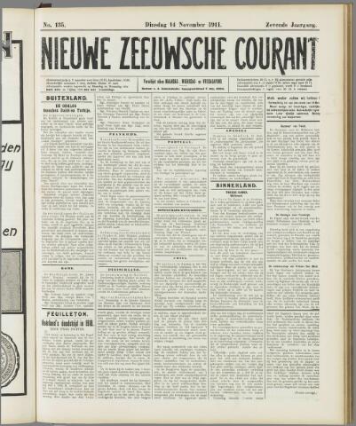 Nieuwe Zeeuwsche Courant 1911-11-14