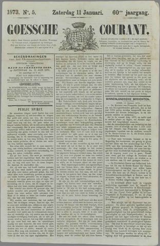 Goessche Courant 1873-01-11