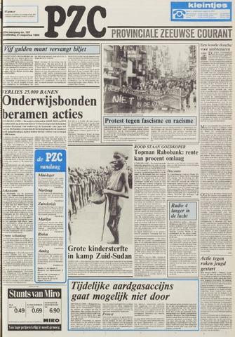 Provinciale Zeeuwse Courant 1986-08-21