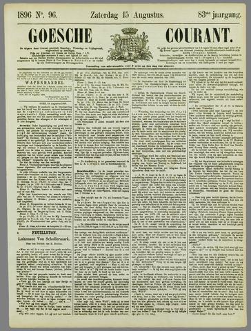 Goessche Courant 1896-08-15