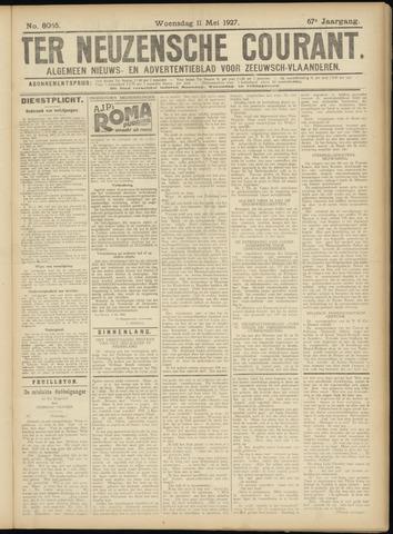 Ter Neuzensche Courant. Algemeen Nieuws- en Advertentieblad voor Zeeuwsch-Vlaanderen / Neuzensche Courant ... (idem) / (Algemeen) nieuws en advertentieblad voor Zeeuwsch-Vlaanderen 1927-05-11
