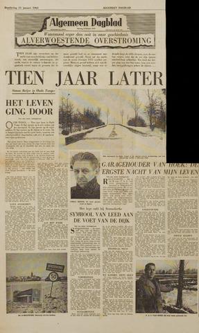 Watersnood documentatie 1953 - kranten 1963-01-31