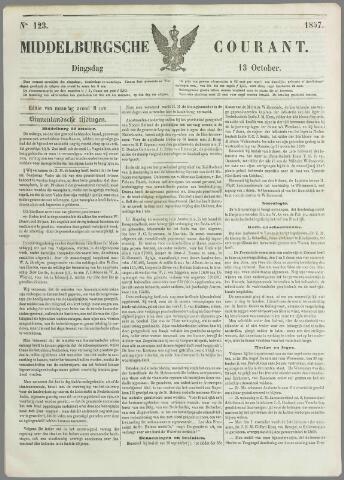 Middelburgsche Courant 1857-10-13