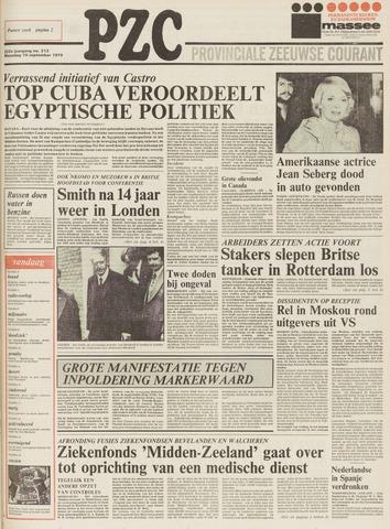 Provinciale Zeeuwse Courant 1979-09-10