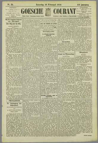 Goessche Courant 1924-02-16