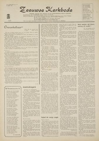 Zeeuwsche kerkbode, weekblad gewijd aan de belangen der gereformeerde kerken/ Zeeuwsch kerkblad 1969-06-26