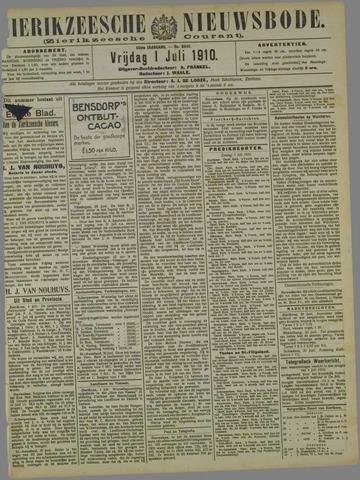 Zierikzeesche Nieuwsbode 1910-07-01