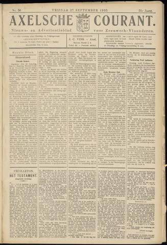 Axelsche Courant 1935-09-27