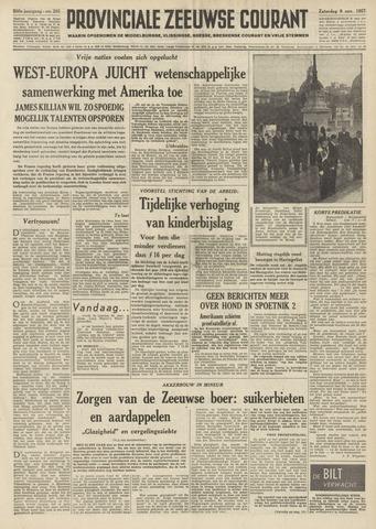 Provinciale Zeeuwse Courant 1957-11-09