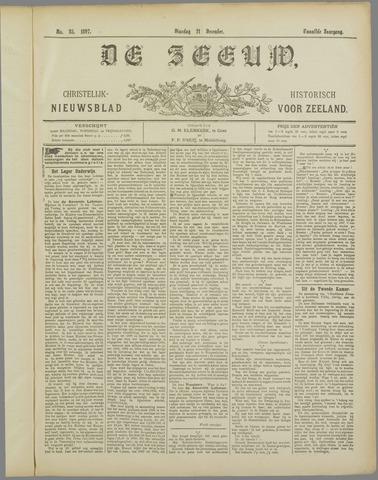 De Zeeuw. Christelijk-historisch nieuwsblad voor Zeeland 1897-12-21